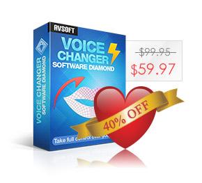 AV Voice Changer Software Diamond 9.0