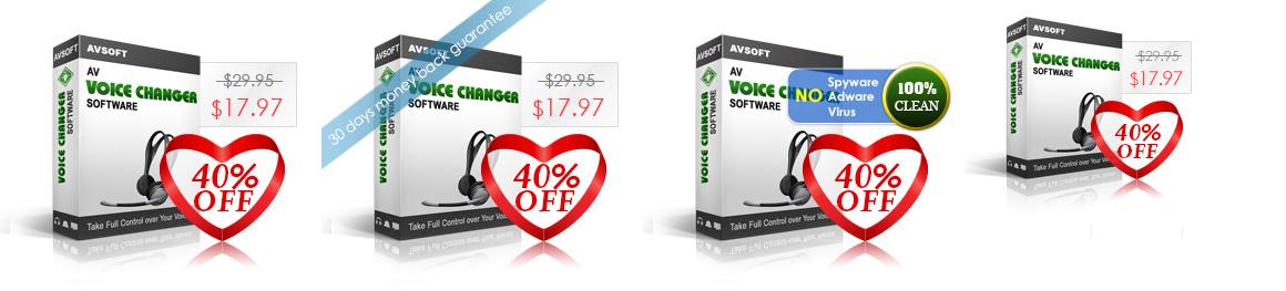 AV Voice Changer Software's product box