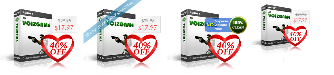 AV VoizGame 6.0 change voices in online game chat rooms