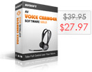 AV 음성 체인저 소프트웨어 골드