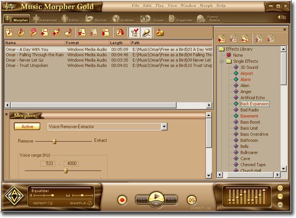 av music morpher gold 4.0.60