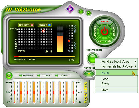 Click to view AV VoizGame 6.0.59 screenshot