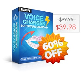 AV Voice Changer Software Diamond 9.0 Coupon, discount 30% AV Voice Changer Software Diamond discount. Promotion: AV Voice Changer Software Diamond Discount
