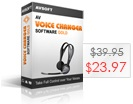 AV Voice Changer Software Gold 7.0