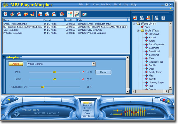 hd mp3 player software free